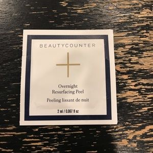 Other - Beautycounter overnight resurfacing peel
